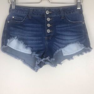2 pairs of Forever 21 Cutoff Jean Shorts